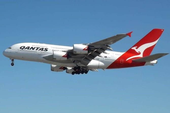 Fluglinie Qantas