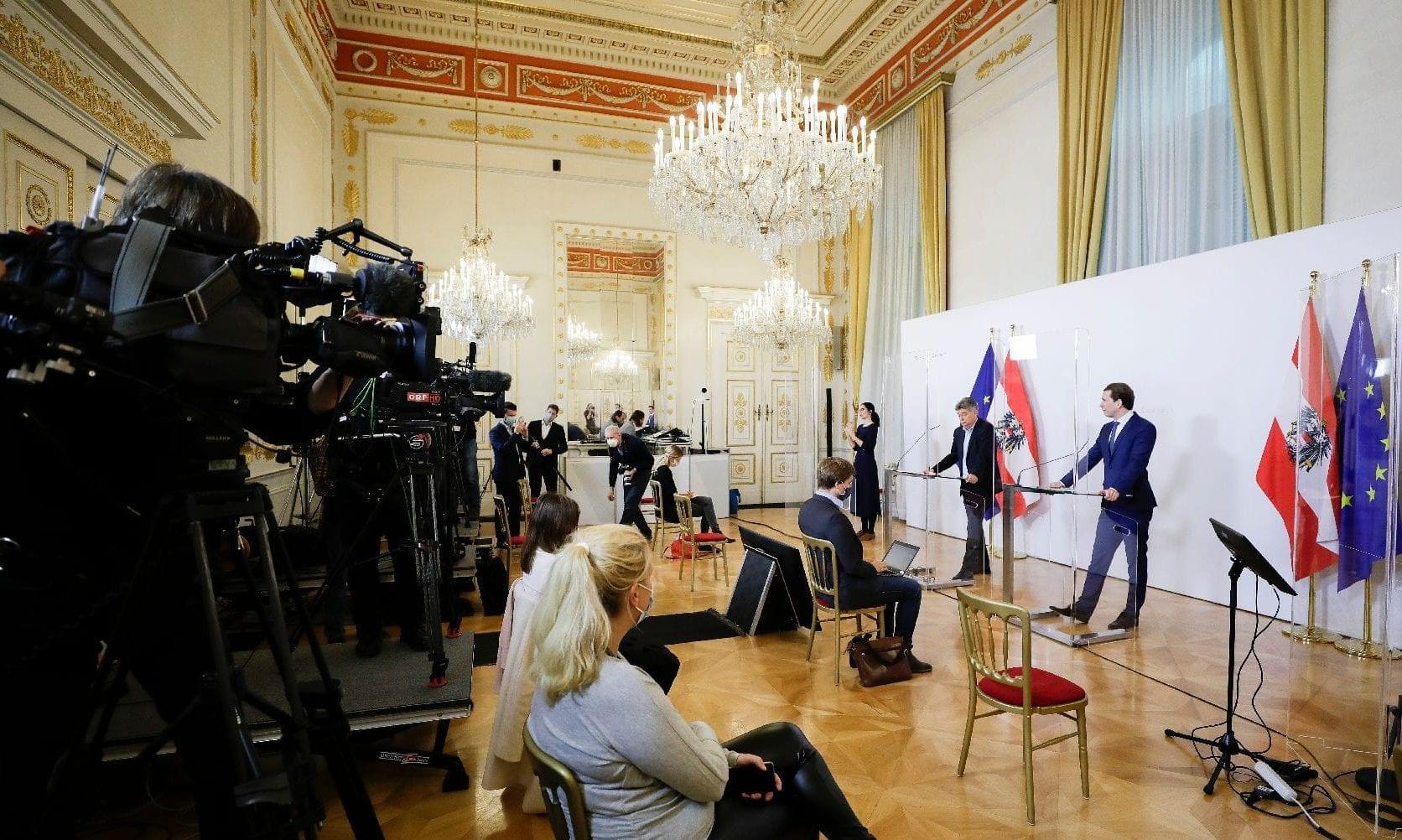 Kein Zutritt für kritische Medien zur Pressekonferenz nach dem Ministerrat