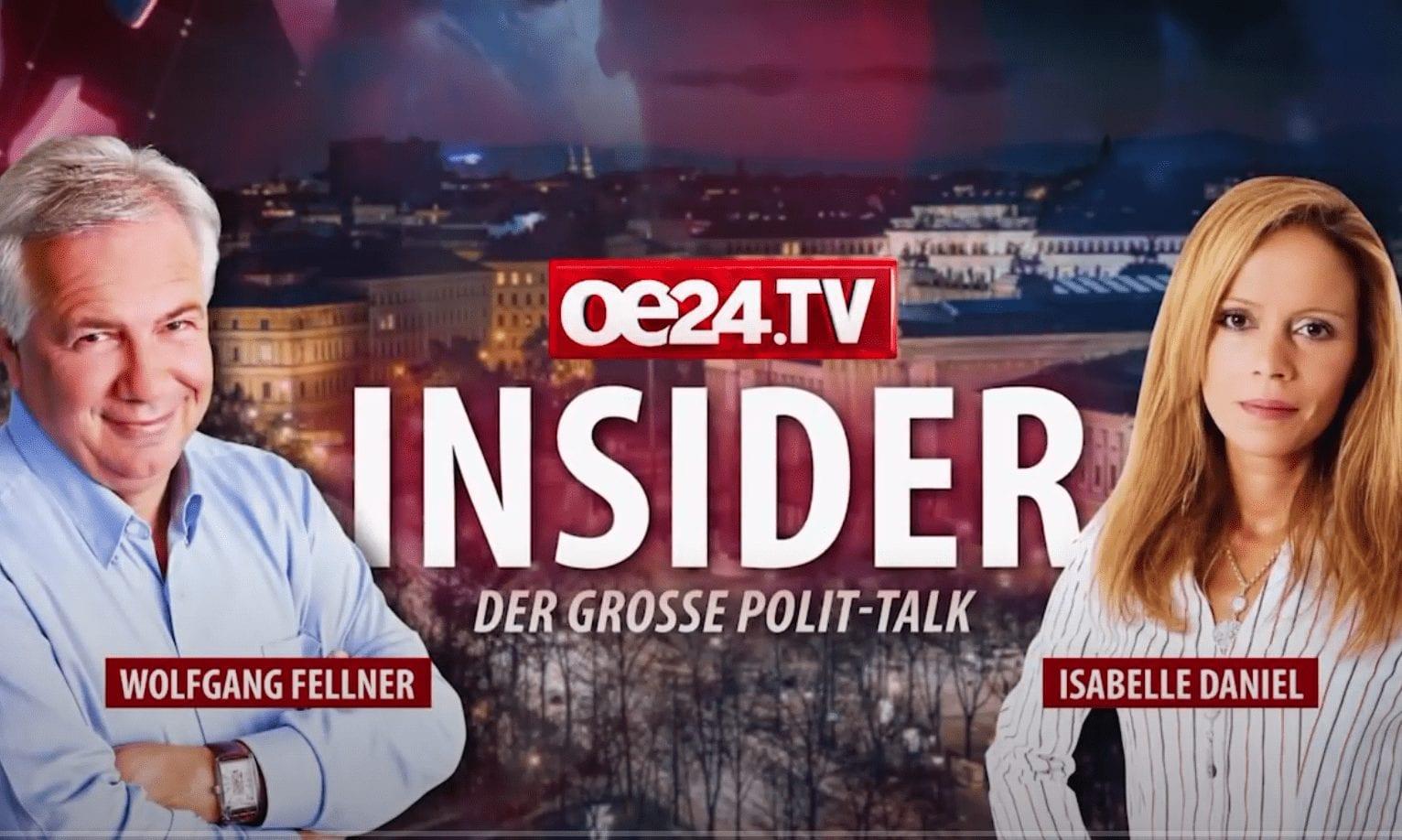 """Wolfgang Fellner outet sich im Prozess: oe24-TV-Magazin """"Die Insider"""" ist Scherzmagazin ohne Fakten"""
