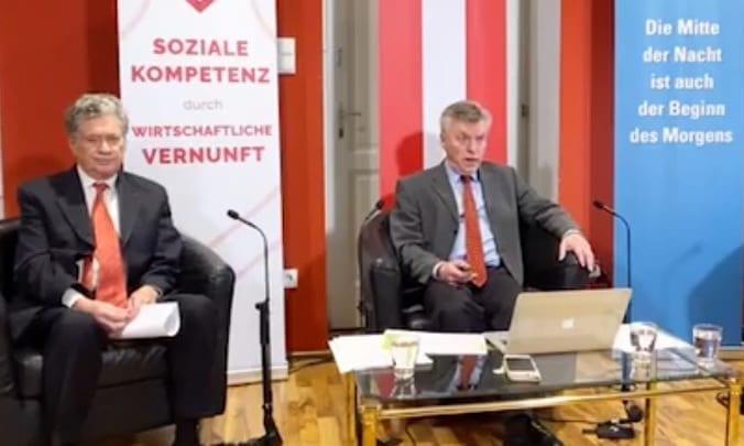 RA Alfons Adam und Ökonom Christian Zeitz