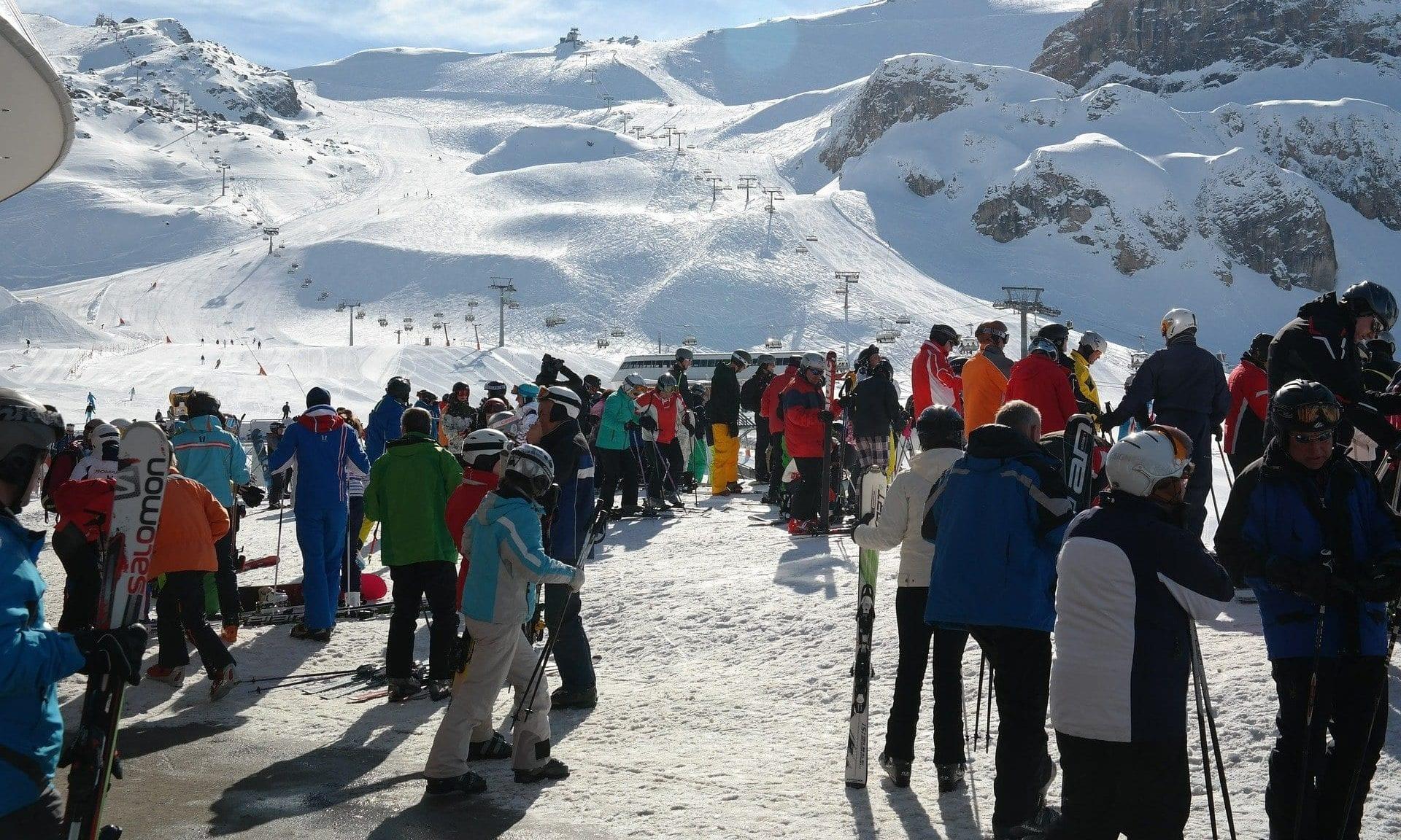 Skifahren / Skilift