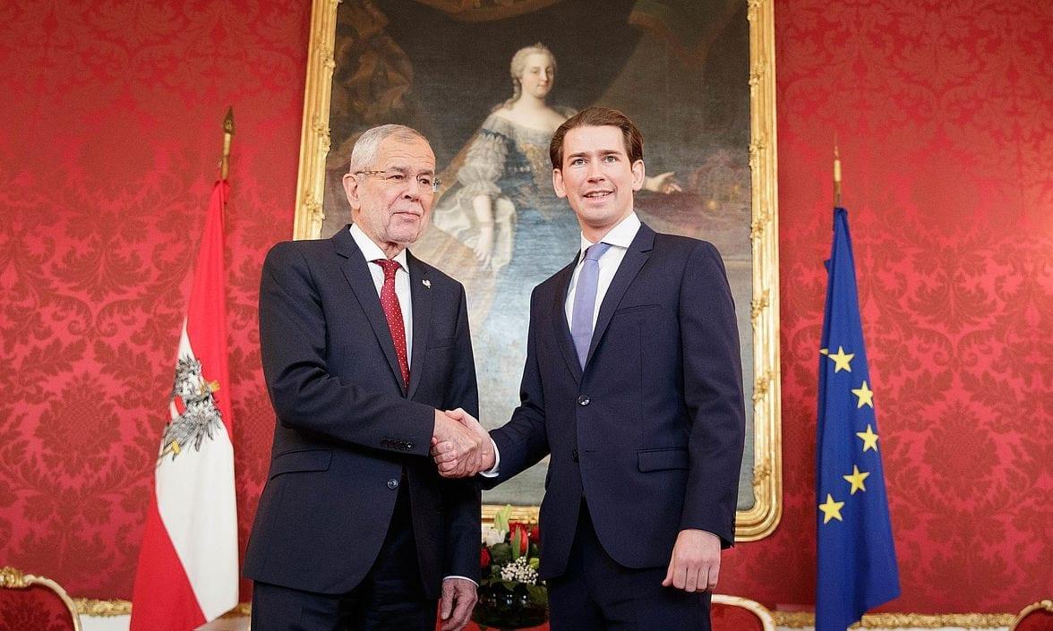 Alexander Van der Bellen und Sebastian Kurz