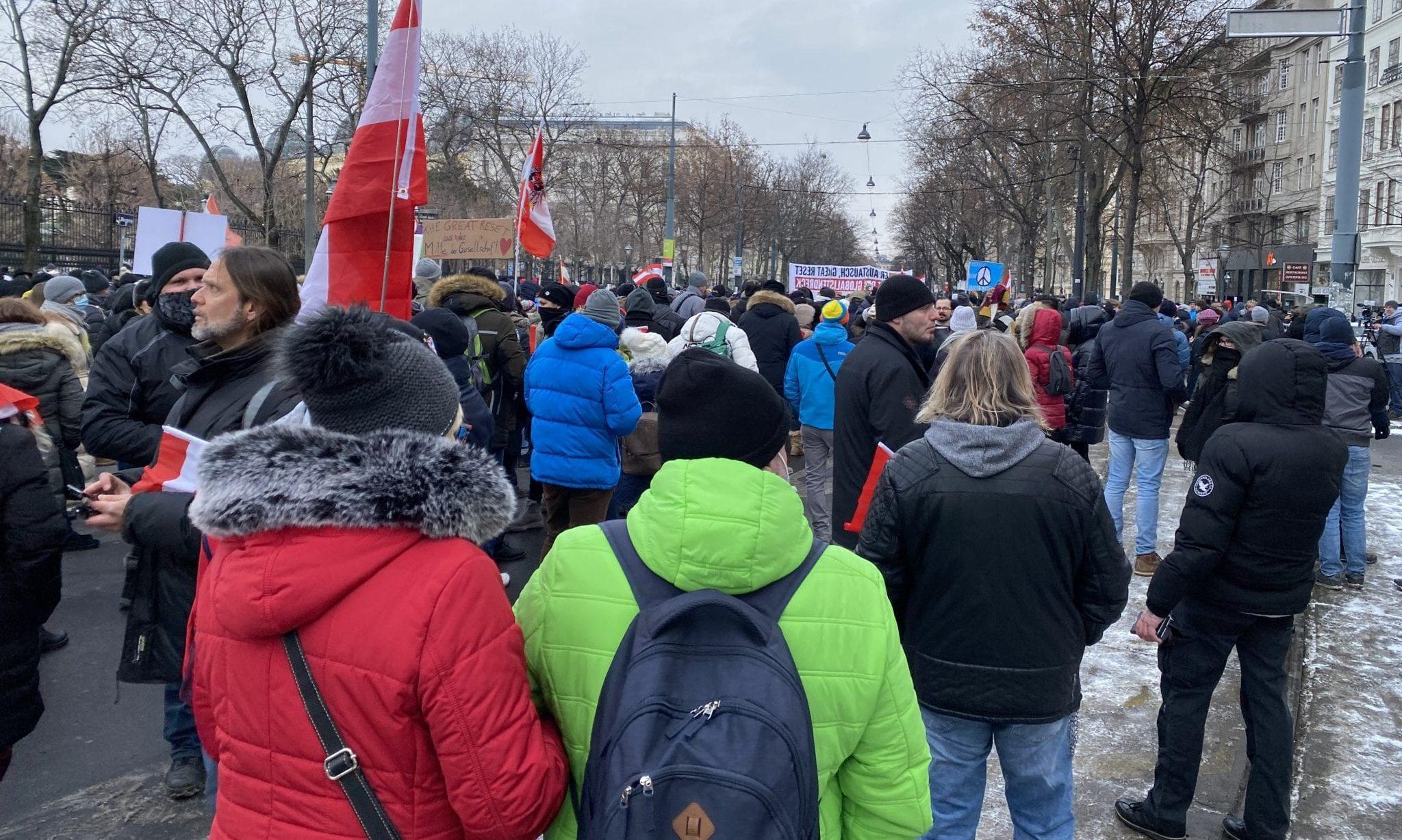 Demo 16. Jänner Wien