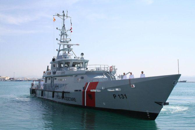 Albanische Küstenwache
