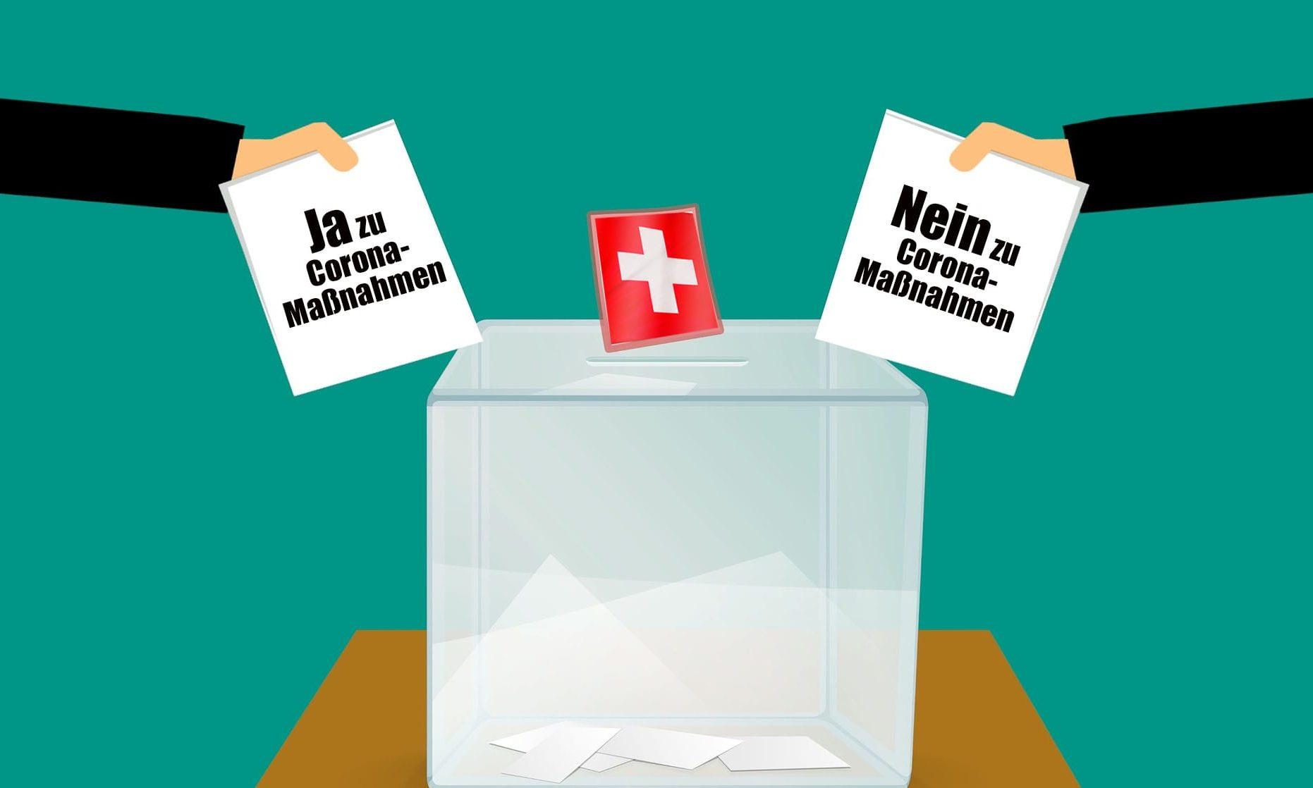 Abstimmung Schweiz Corona
