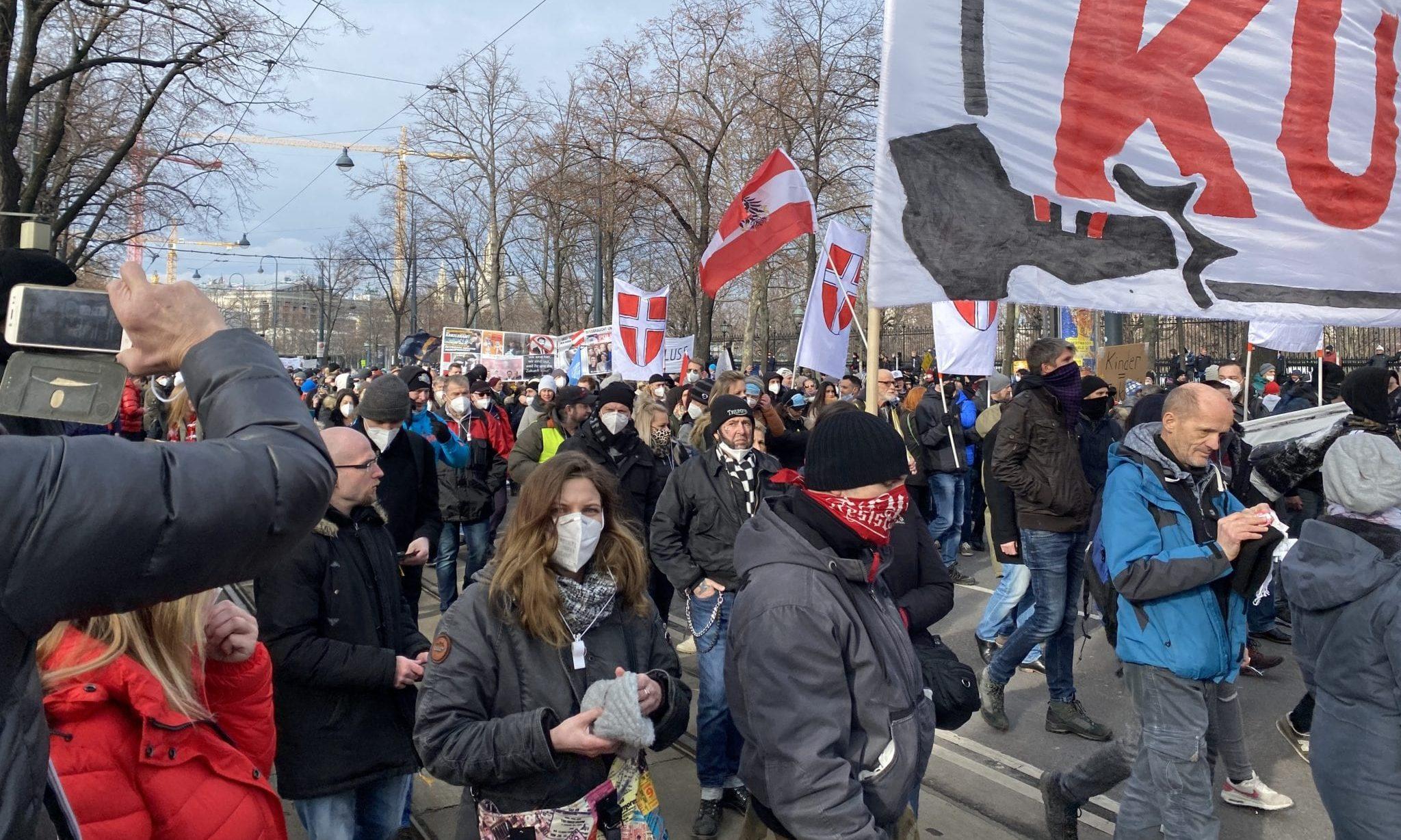 Demo Wien 31. 1. 2020