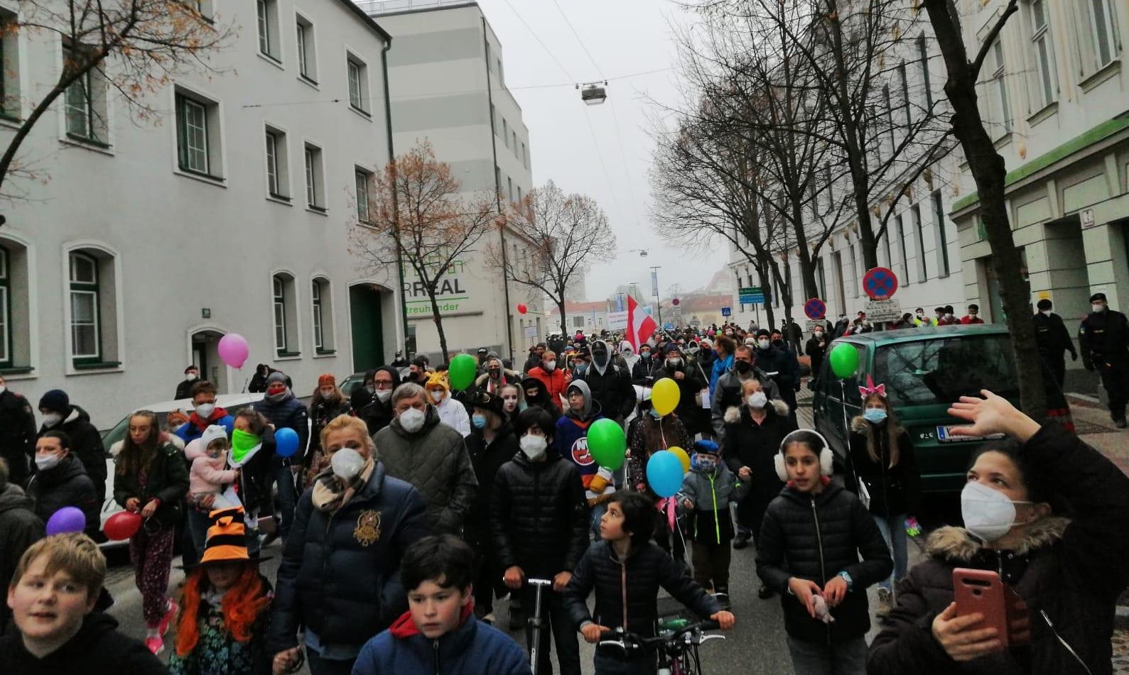 Demo Wiener Neustadt / 5.2.2021