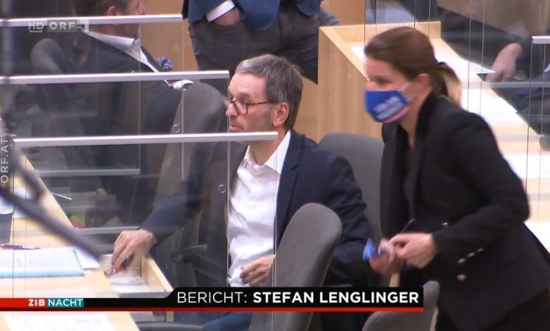 Herbert Kickl im ORF