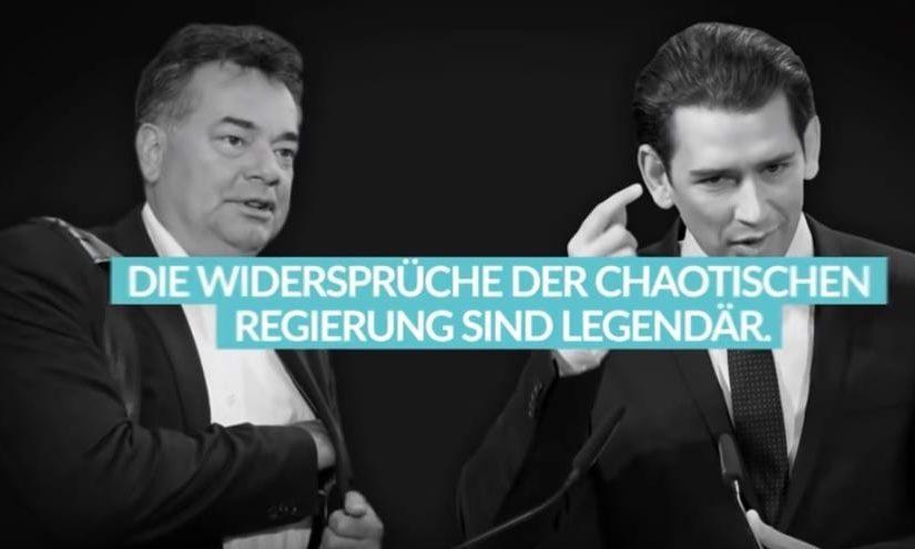 Werner Kogler / Sebastian Kurz