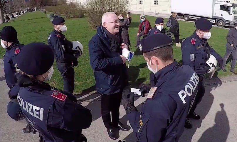 Martin Graf und Polizei