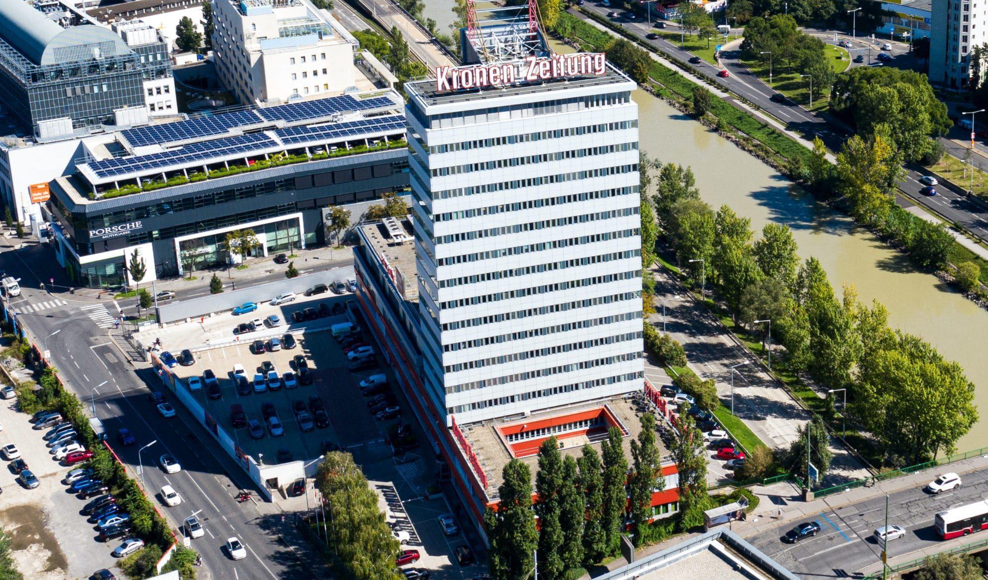 Kronen Zeitung Gebäude