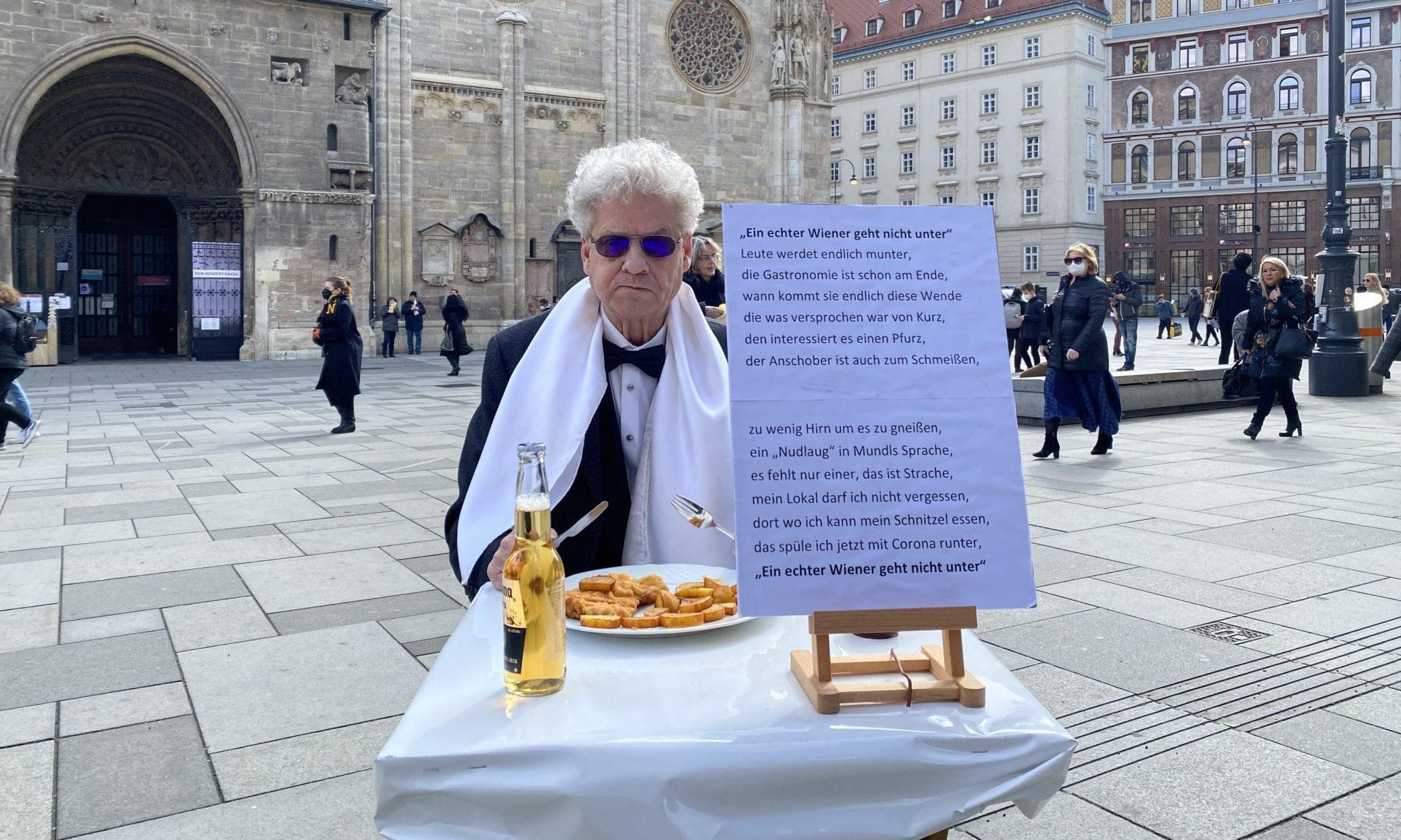 Schnitzel-Protest
