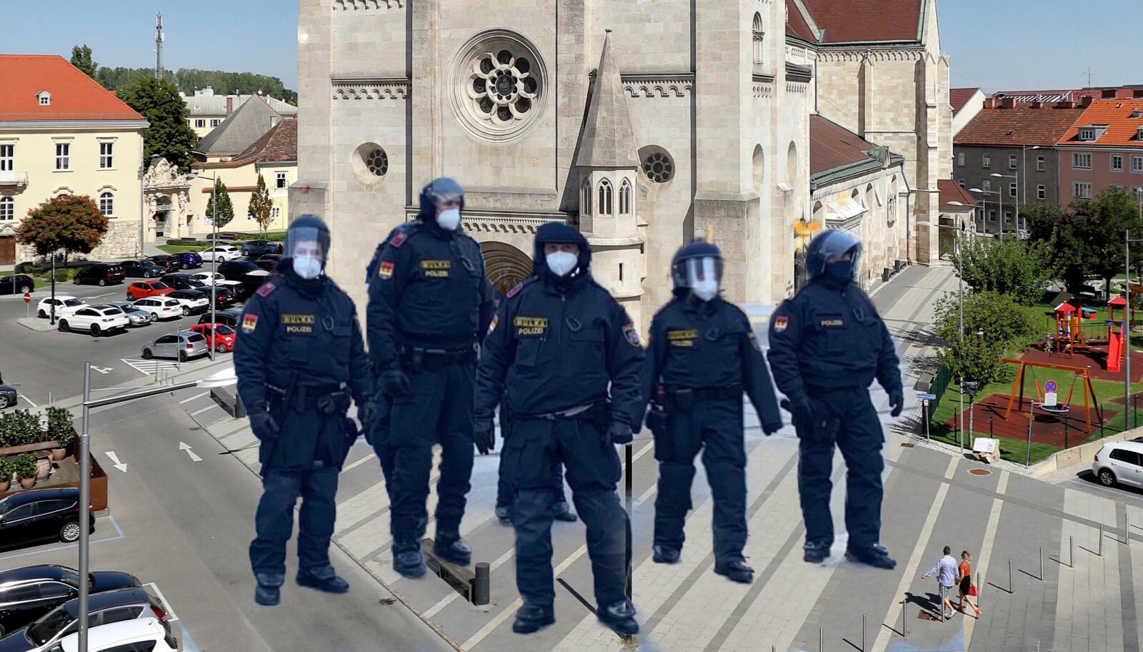 Wiener Neustadt / Polizei