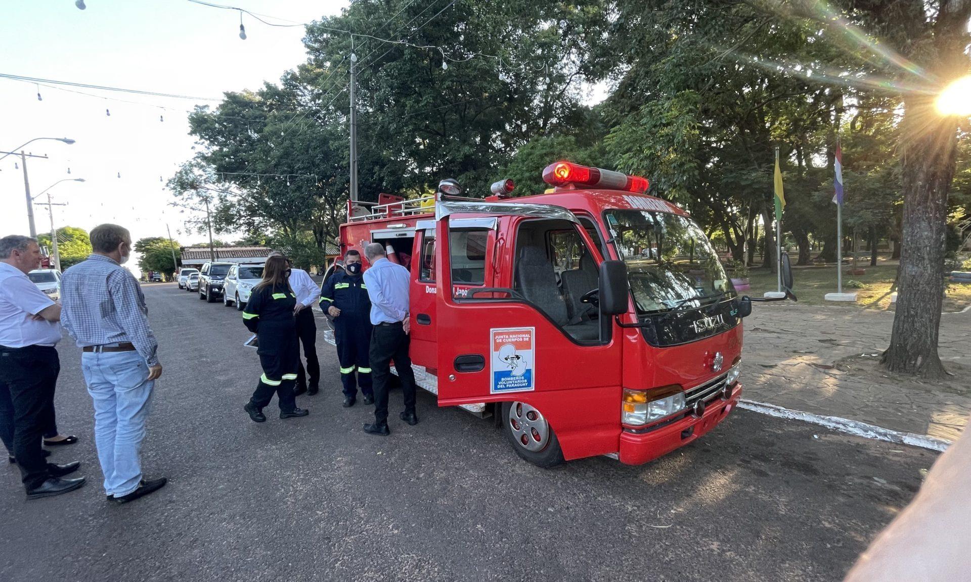 Feuerwehr in Paraguay