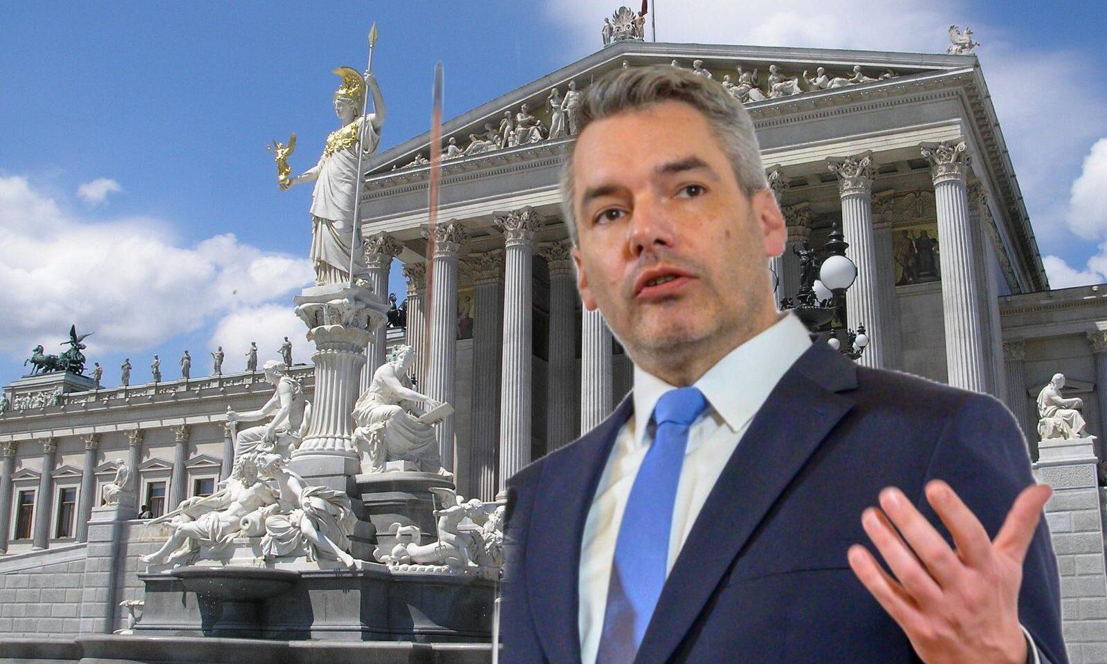 Karl Nehammer / Parlament