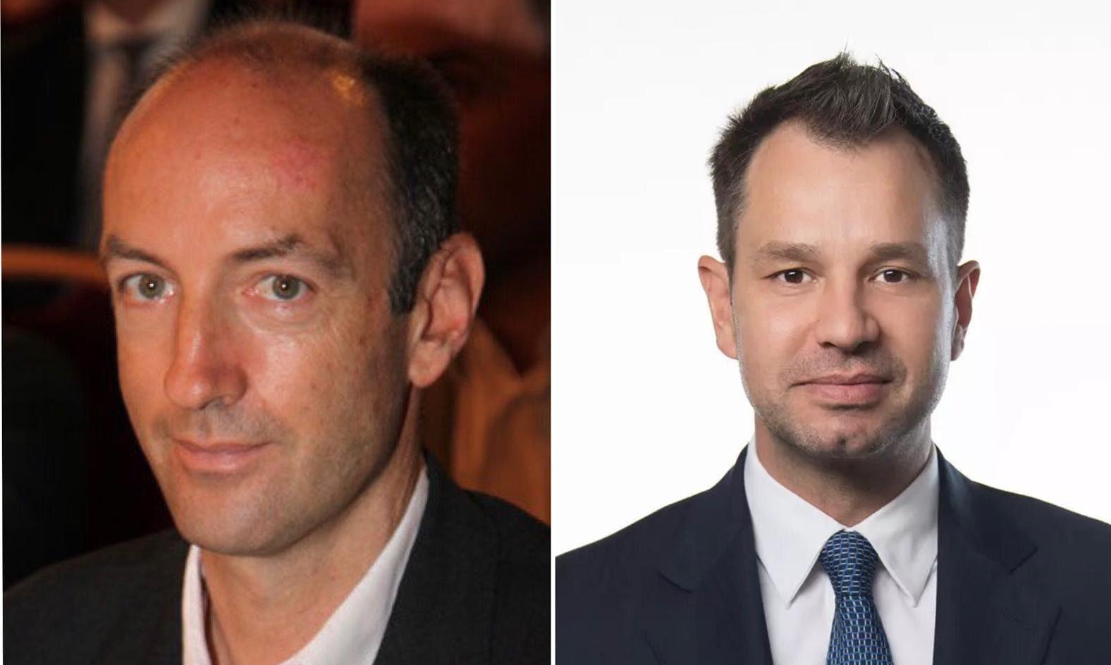 Christoph Dichand und Thomas Schmid
