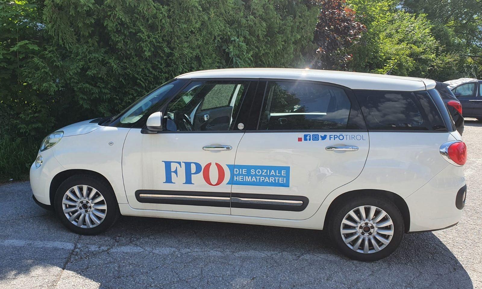 FPÖ-Auto