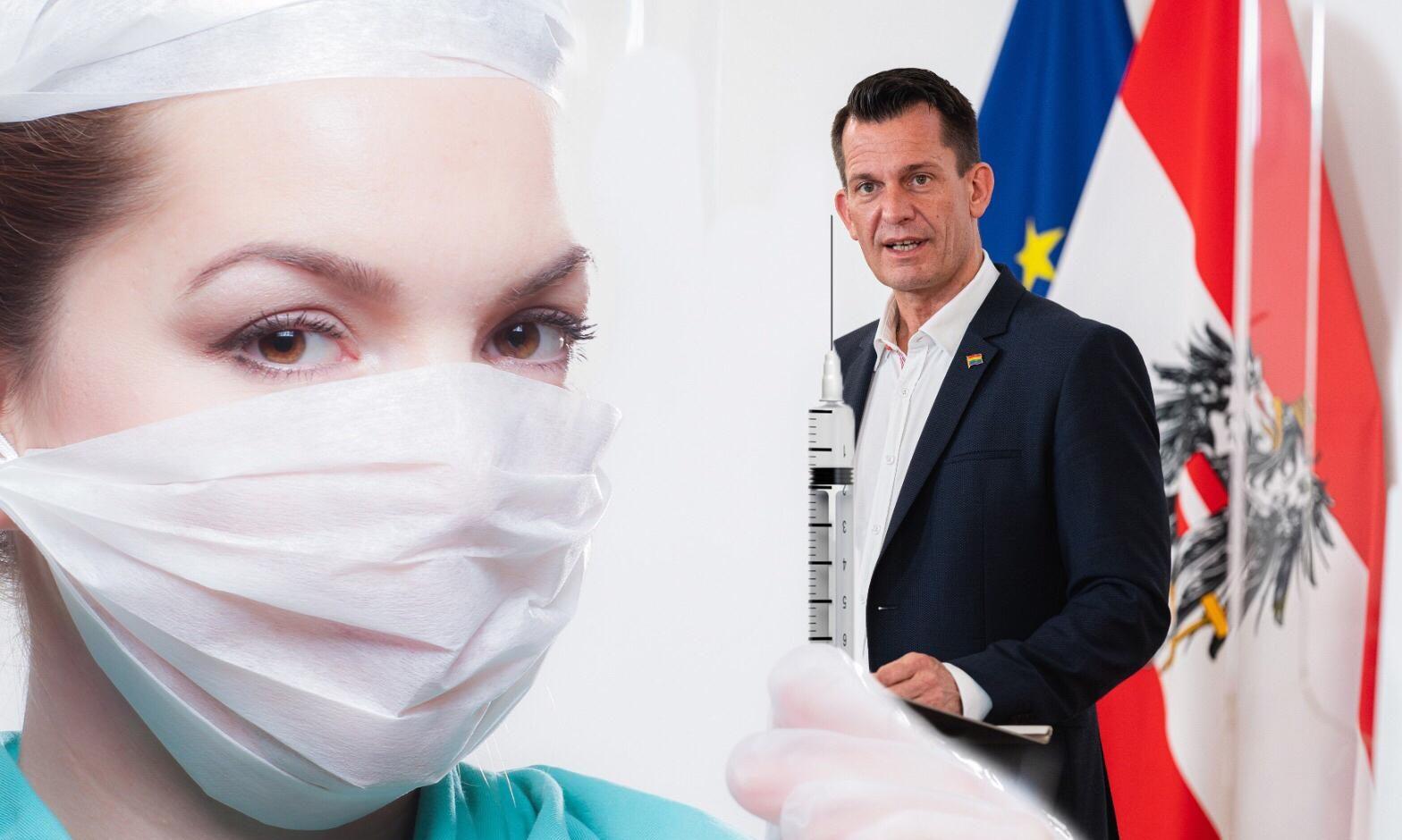 Wolfgang Mückstein / Impfung