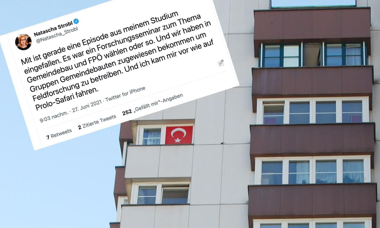 Gemeindebau / Twitter / Strobl