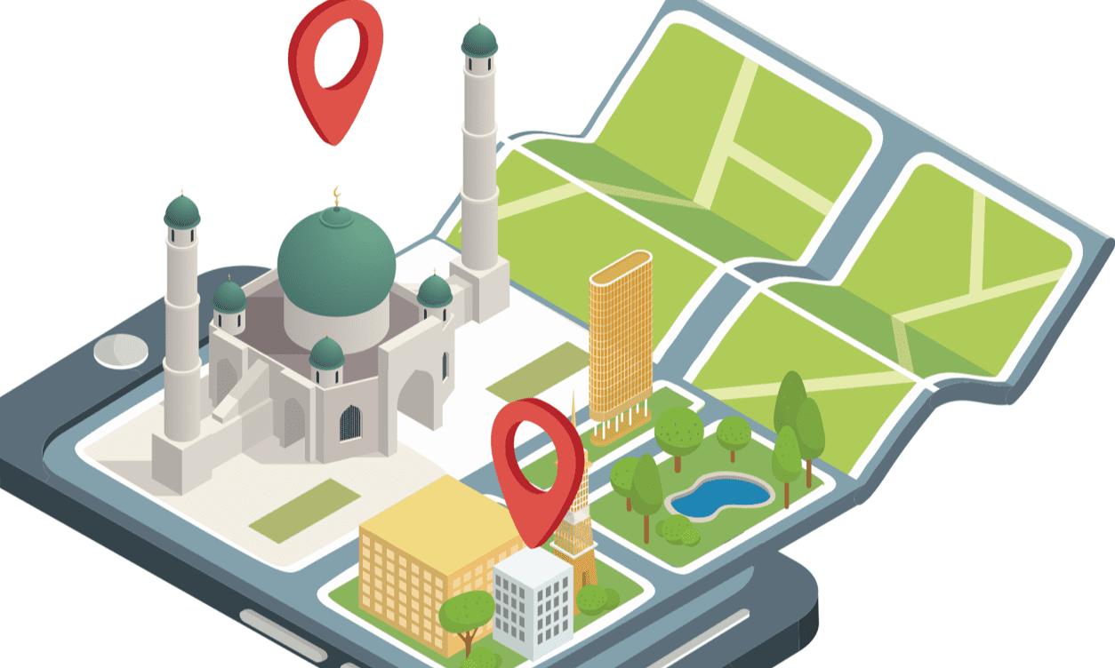 Moschee-Grafik