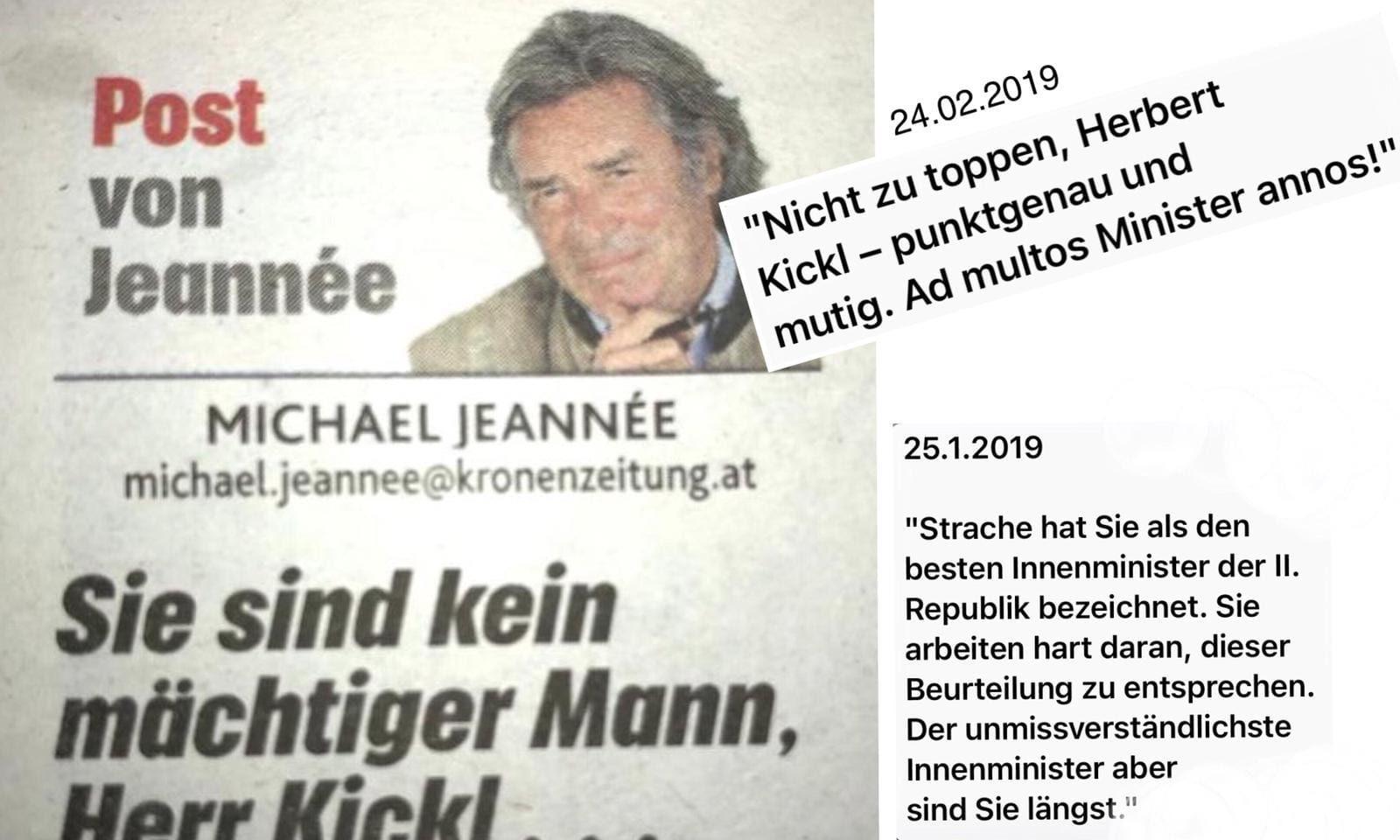 Kronen Zeitung / Michael Jeanneé