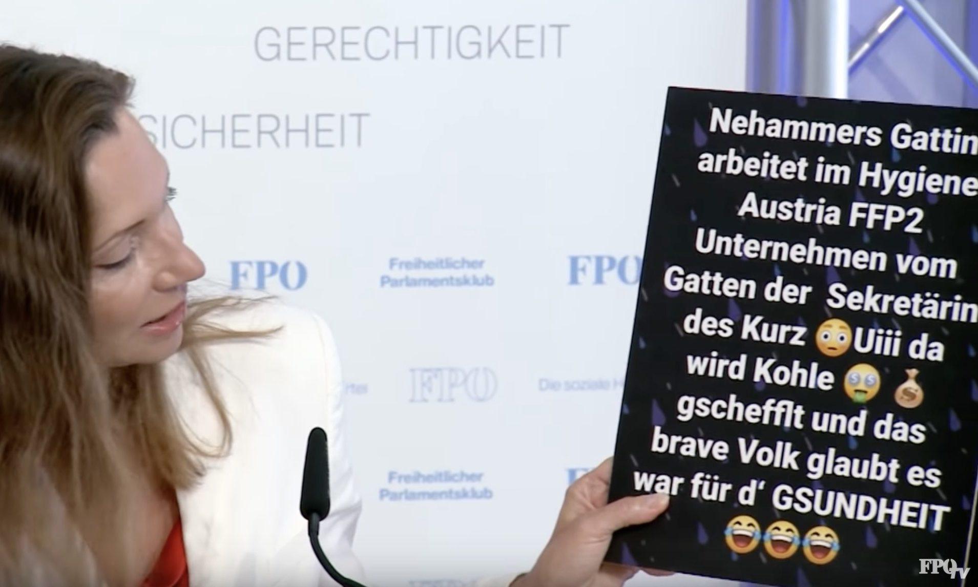Fürst und Posting Katharina Nehammer