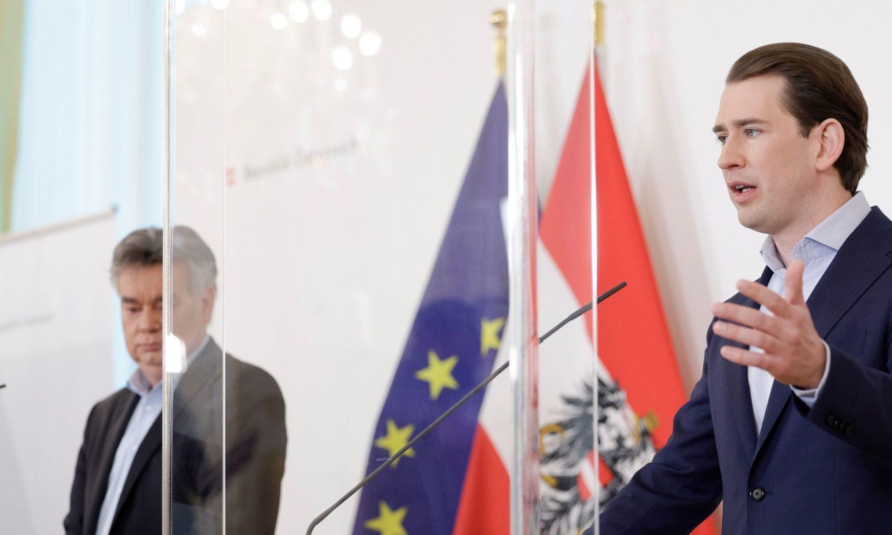 Werner Kogler und Sebastian Kurz