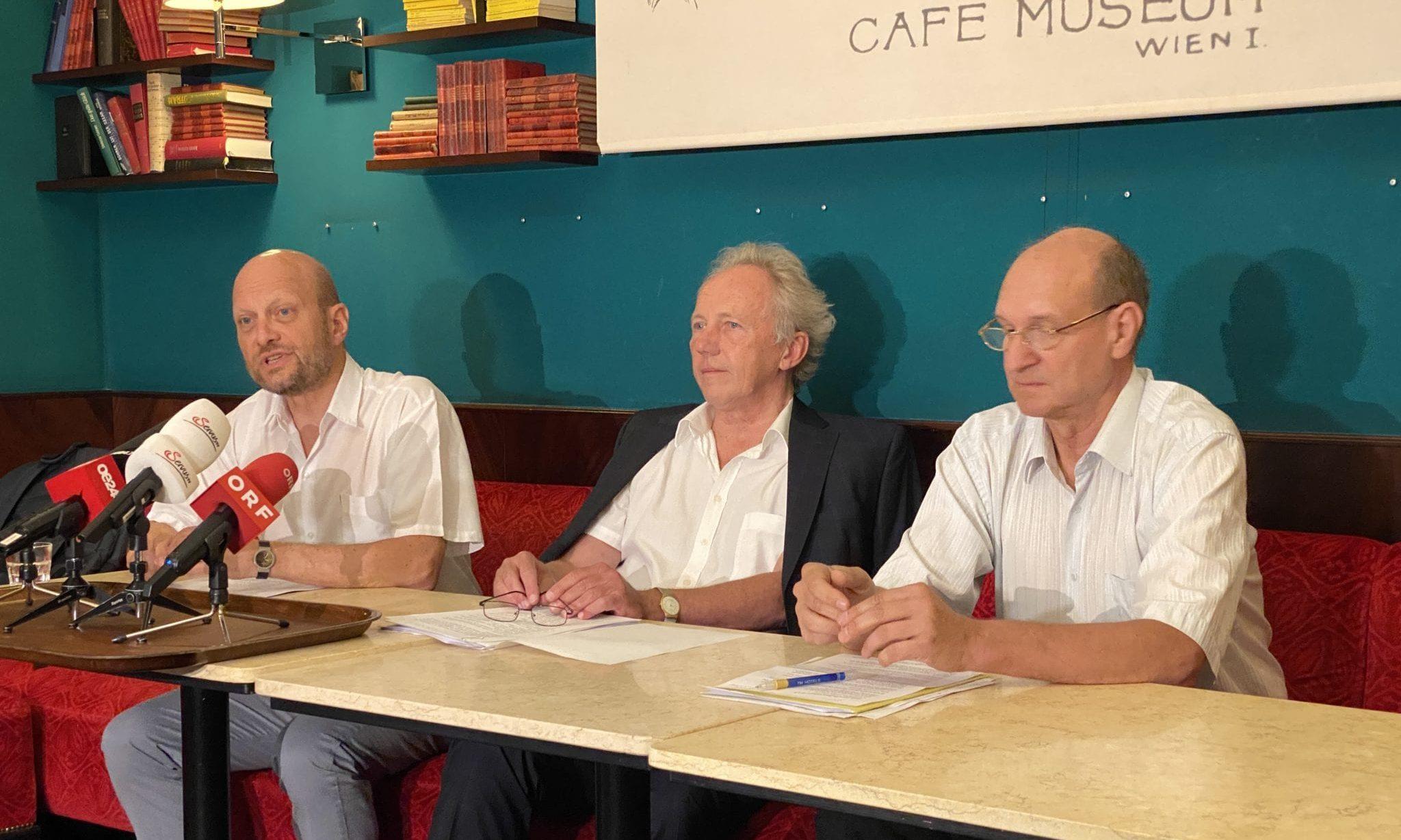 Michael Brunner, Hans Zeger, Christian Fiala