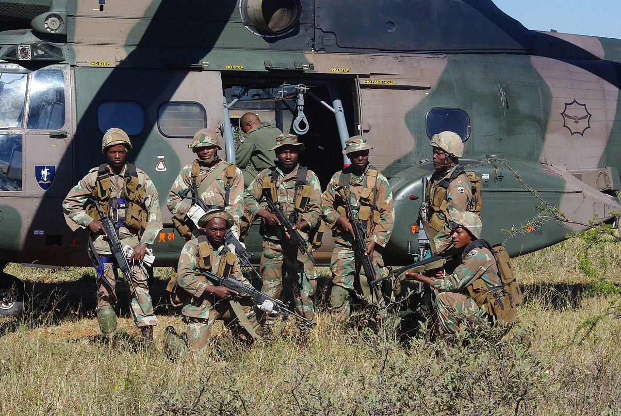 Südafrikanische Armee