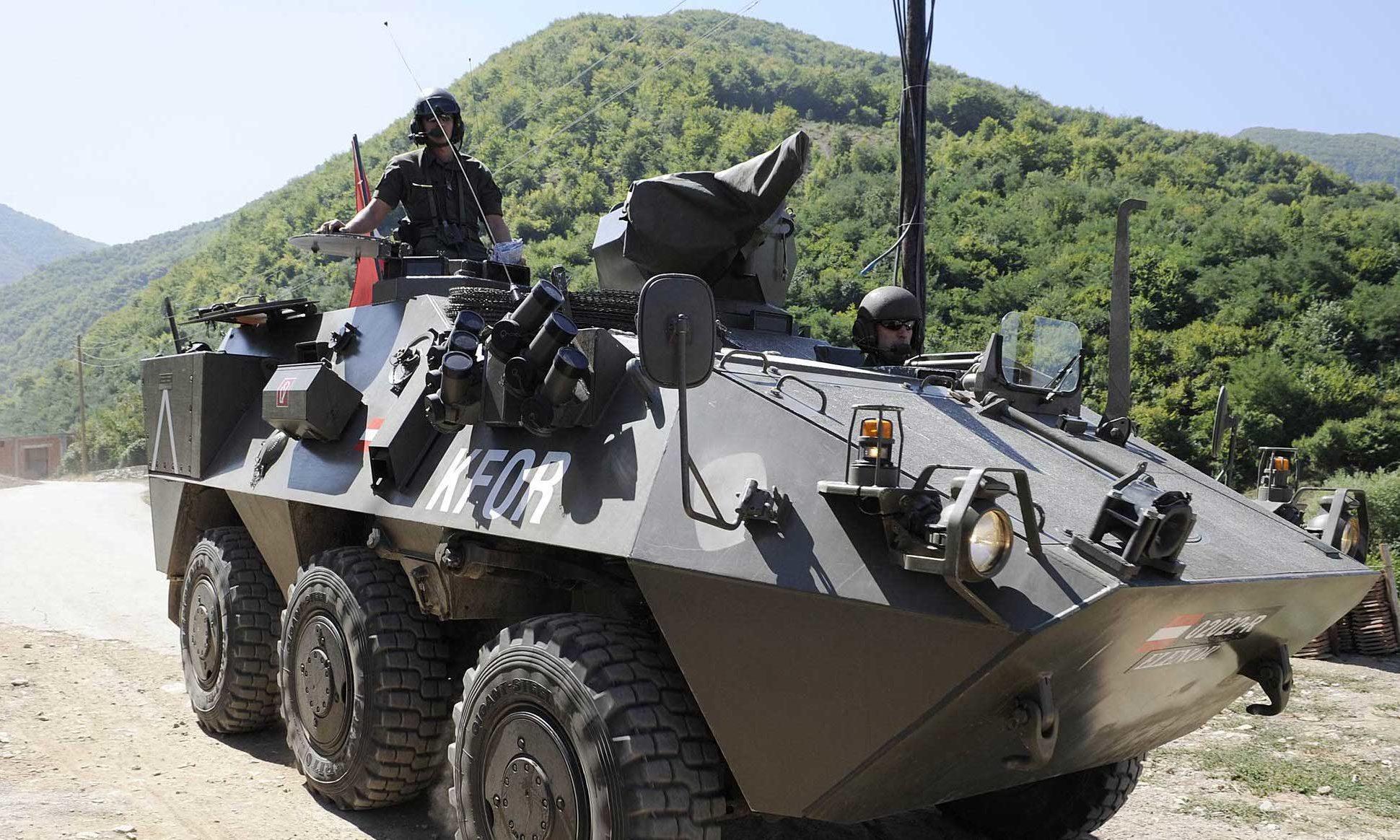 Pandur / Bundesheer / Kosovo
