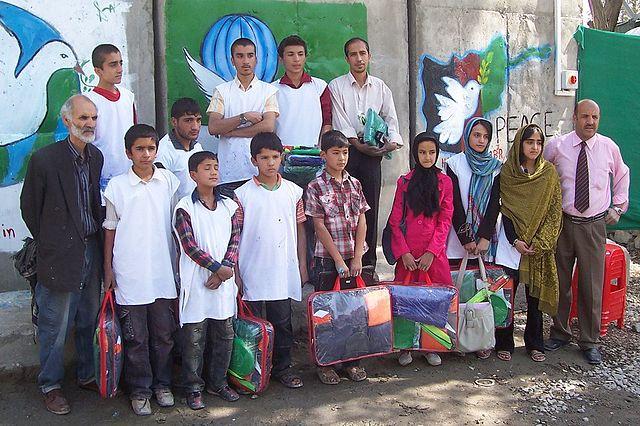 Lehrer und Studenten Kabul
