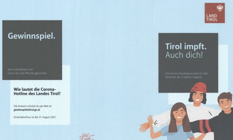 Impffolder Land Tirol