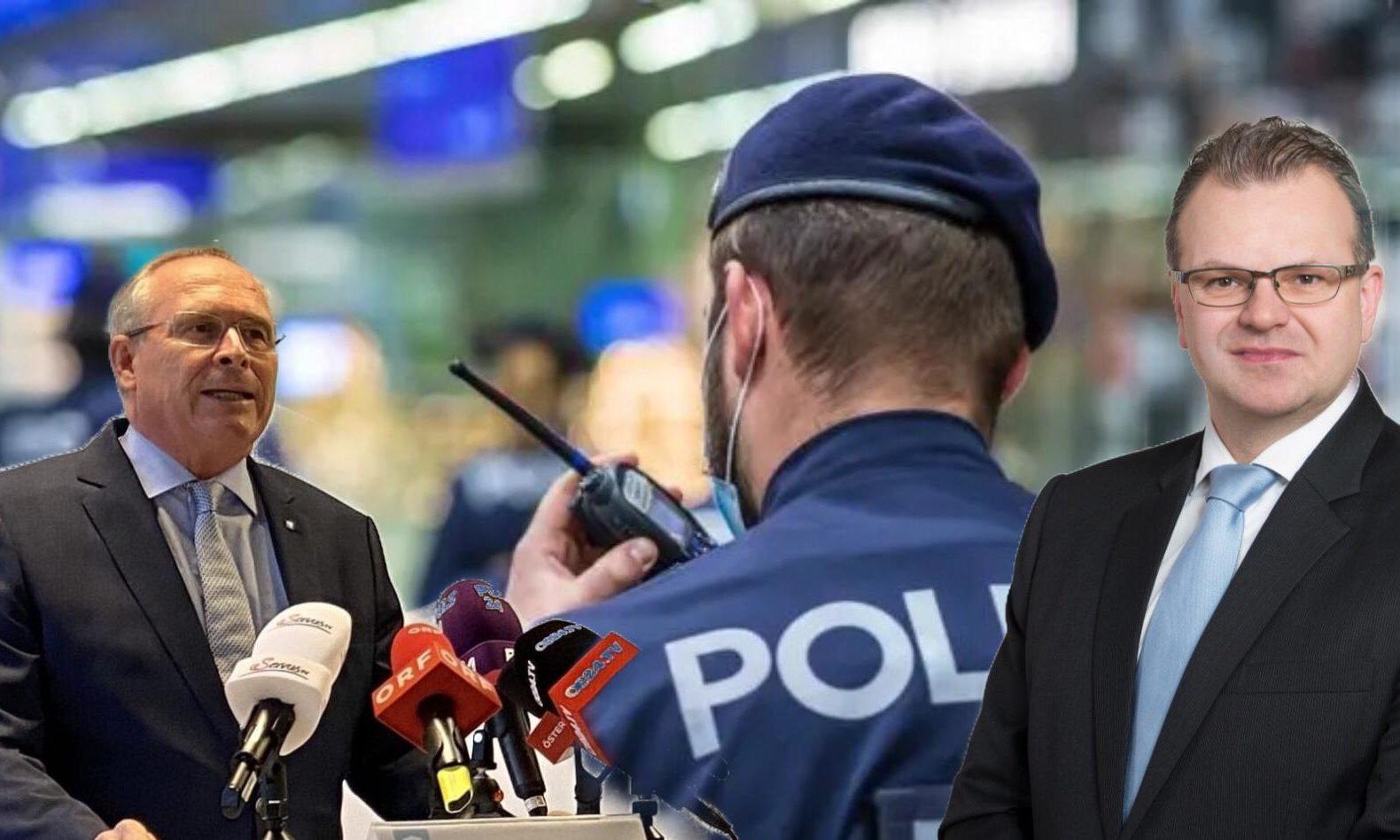 Karl Mahrer / Hans-Jörg Jenewein / Polizei