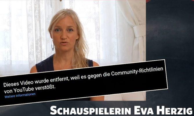 Zensur gegen Eva Herzig