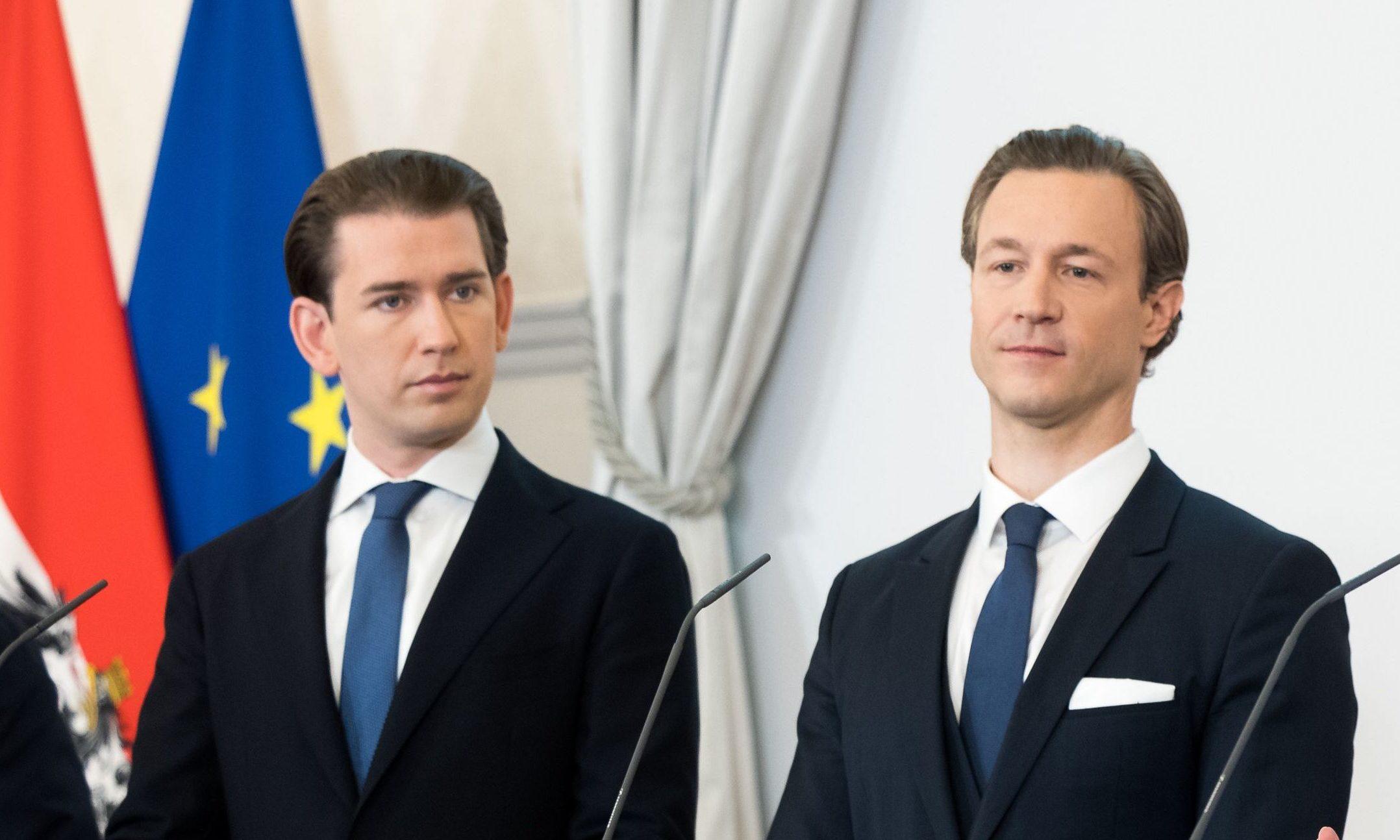 Sebastian Kurz und Gernot Blümel